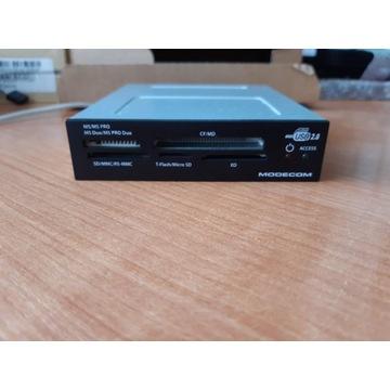 Wewnętrzny czytnik kart pamięci MODECOM USB 2.0