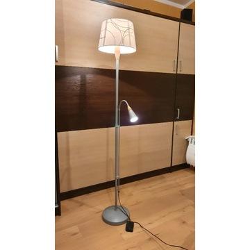 Lampa stojąca IKEA podwójna ładna