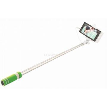Kijek do selfie stick UCHWYT Monopod (zielony)