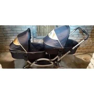 Wózek dla bliźniąt ZOOM Abc Design