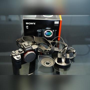 Sony A7II MK2 + SEL50F18F jak nowy, gwarancja
