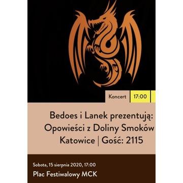 Bilet na Koncert Bedoes