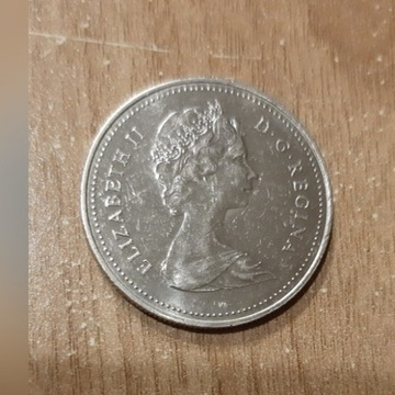 Moneta 1 dolar kanadyjski 1985r.  Zapraszam