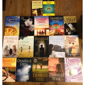 Zestaw książek Danielle Steel w stanie bdb