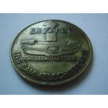 Medal Niemcy- DDR Towarzystwo Ratowania Rozbitków