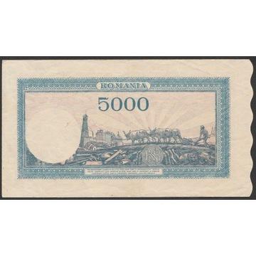 Rumunia 5000 lei 1945 - D/9