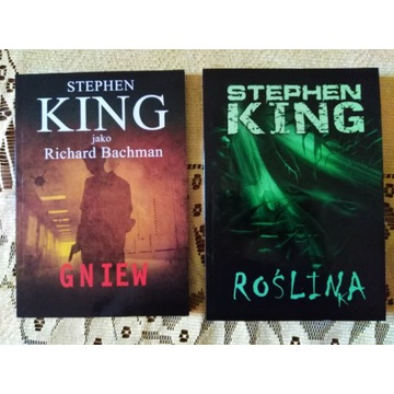 Stephen King - Roślinka / Gniew