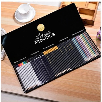 60 premium quality artists pencils/zestaw kredek!