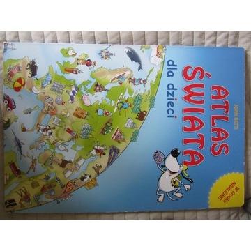 Książka Atlas świata dla dzieci