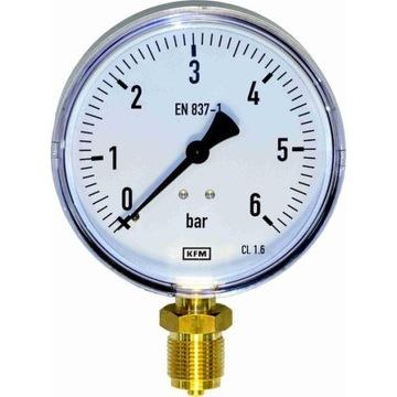 Manometr standard WIKA KFM typ 111.10 fi-63 6bar