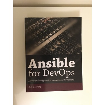 Ansible for DevOps Jeff Geerling