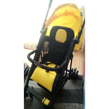 Wózek spacerowy Recaro Easylife czarno żółty