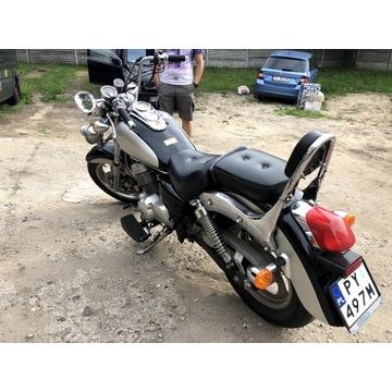 Błotnik tylny do motocyklu LIFAN 250+lampa