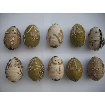 Styropianowe jajka Wielkanocne - rękodzieło