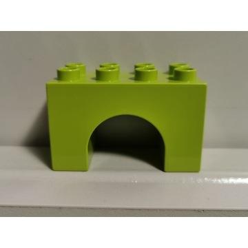 LEGO DUPLO oryginalny FILAR mała podpora zielona