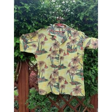 Koszula hawajska rozm.L /duża/