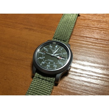 Seiko 5 military automatic SNK805K2 Made in japan