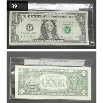 BANKNOT DOLAR USA 2013 (39)