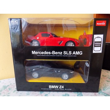 RASTAR mercedes AMG +BMW zdalnie sterowane modele