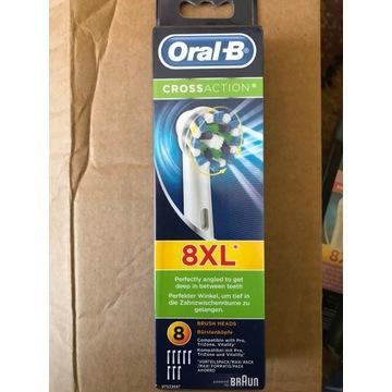 Końcówki do szczoteczki Oral-B CROSS ACTION