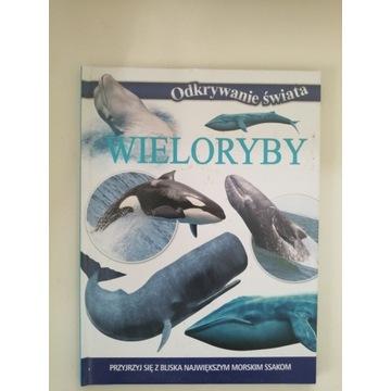 Książka Odkrywanie świata, wieloryby.