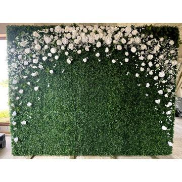 Ścianka kwiatowa kwietna duża wesele