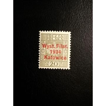 Fi 264 ** I Wystawa Filat. w Katowicach - 1934r.