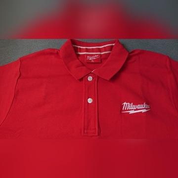 Koszulka t-shirt polo Milwaukee XL