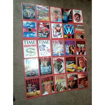 TIME czasopisma lata 1990 i 1992