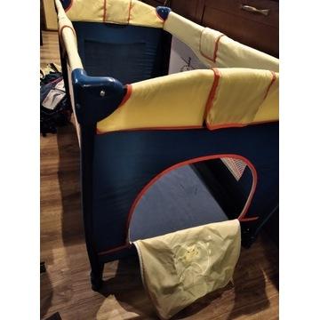 Kojec, łóżeczko turystyczne - 2 poziomy+akcesoria