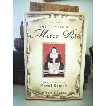 Książka The Travels of Marco Polo, Manuel Komroff