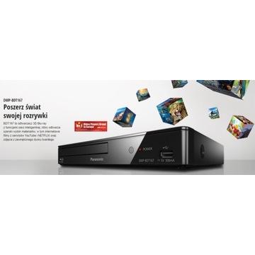 Blu Ray 4K  Panasonic DMP-BDT167