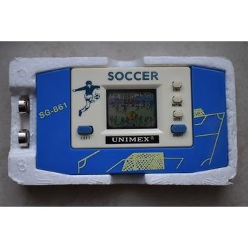 Gierka z lat 80. piłka nożna,stan idealny,rarytas!