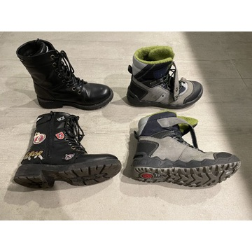 Zestaw butów zimowych Primigi 32 + Nelli Blu 32