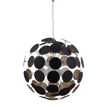 Lampa wisząca Italux Mailone AD20180/6C BL+G