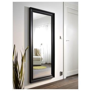 Ikea HEMNES Lustro - czarne czarno-brązowy