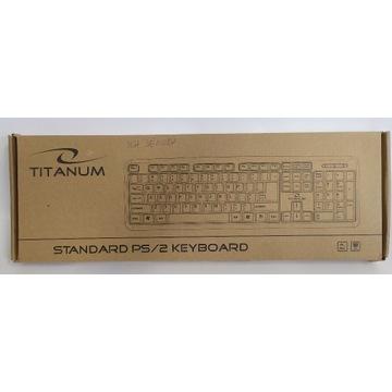KLAWIATURA TITANUM TK102 PS/2 STANDARDOWA