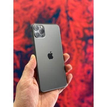 Telefon iPhone 11 Pro 64 GB FV 23% jak nowy szary