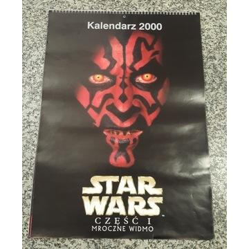 Kalendarz kolekcjonerski STAR WARS 2000