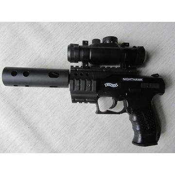 Wiatrówka Walther Nighthawk Diabolo (zestaw)