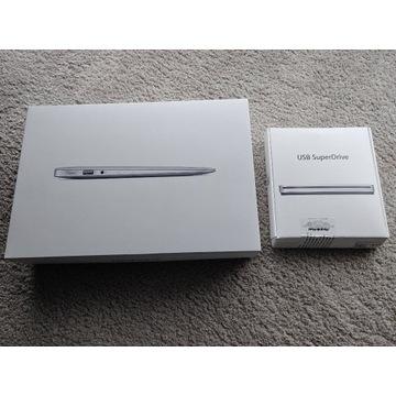 MacBook Air | fabryczny zestaw | bez skazy |