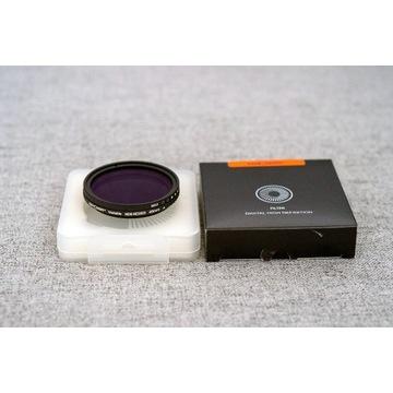 Filtr szary zmienny K&F Concept 49mm ND8 - ND2000
