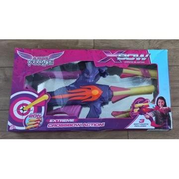 duża KUSZA ze strzałami dla dziewczynki X-BowForce