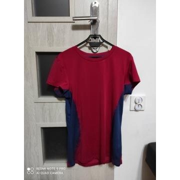 Damska koszulka sportowa czerwona rozmiar M nowa