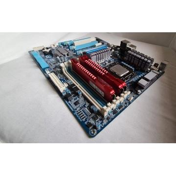 6 rdzeni i7 980x + HyperX Savage 24 GB  + Płyta