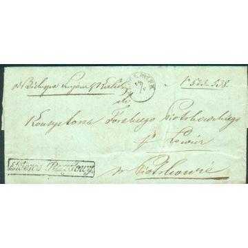 Królestwo Polskie - Włocławek - 1857 r. - Interes