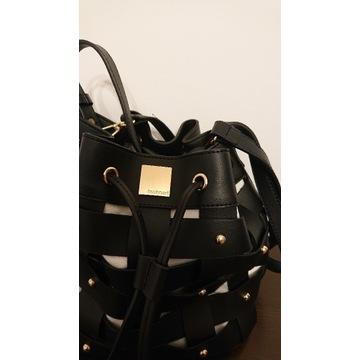 MONNARI torebka worek ćwieki czarna