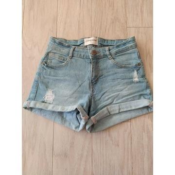 Krótkie jeansy Reserved 34