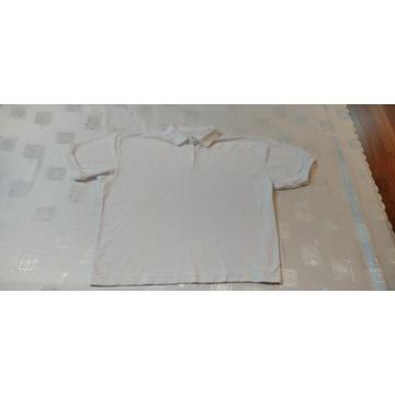 Sprzedam białą bluzkę męską Polo  marki C & A.