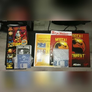 *HIT* Prince Of Persia AMIGA + Mortal kombat 1